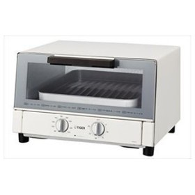 TIGER タイガー オーブントースター 焼きたて ワイド  KAM-A130-W ホワイト