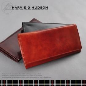 4b44b295807f ハービーアンドハドソン 長財布 メンズ HA-2001-LBR ライトブラウン
