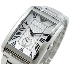 エンポリオ アルマーニ emporio armani 腕時計 ar1607 シルバー