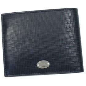 ジョルジオ・アルマーニ giorgio armani 二つ折り財布 小銭入 armani collezioni yam005 wallet d.bl
