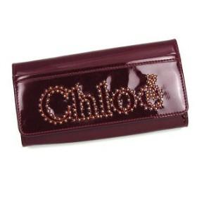 クロエ chloe 長財布 長札 3po452 long wallet with flap nova ruby