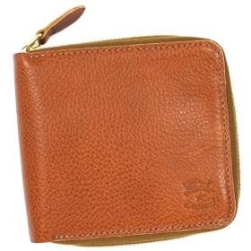 257e58e19811 イルビゾンテ IL BISONTE 財布 二つ折りカード C0935 COGNAC L.BR
