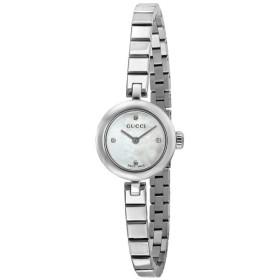 グッチ GUCCI ディアマンティッシマ クオーツ レディース 腕時計 YA141503 ホワイトシェル