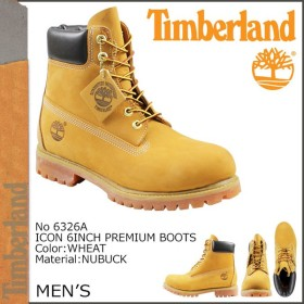 ティンバーランド Timberland 6インチ プレミアム ブーツ 6 INCH PREMIUM BOOTS ヌバック メンズ 6326A ウィート
