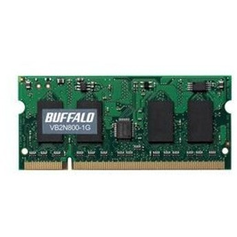 PC2-6400(DDR2-800)対応 200Pin用 DDR2 SDRAM S.O.DIMM1GB
