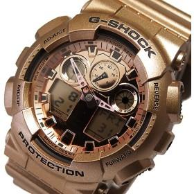 カシオ Gショック クレイジーゴールド メンズ 腕時計 GA-100GD-9A ゴールド