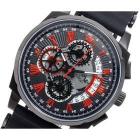 ドルチェ メディオ DOLCE MEDIO クオーツ メンズ クロノ 腕時計 時計 DM12206-IPBKRD