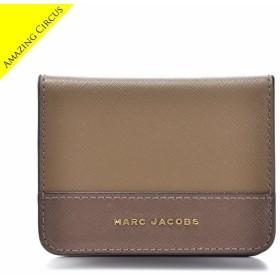 【春夏セール】マークジェイコブス MARC JACOBS  名刺入れ SAFFIANO COLORBLOCKED カードケース M0012059 0010 064【AWSALE】