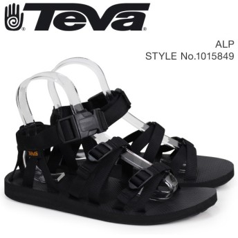 Teva テバ サンダル メンズ アルプ ALP ブラック 1015849