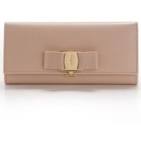 フェラガモ FERRAGAMO 財布 サイフ さいふ 二つ折り長財布 型押しカーフスキン 22B559 0007 0076
