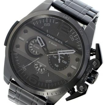 ディーゼル DIESEL アイアンサイド IRONSIDE クオーツ クロノ メンズ 腕時計 DZ4362 ブラック