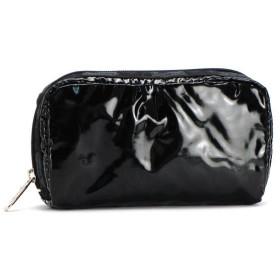 レスポートサック lesportsac ポーチ バッグ ブラックパテント 6511 rectangular cosmetic bk