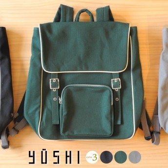 YUSHI 遊糸 リュック 全3色 B-3357
