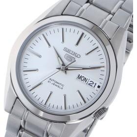 セイコー SEIKO セイコー 5 SEIKO5 自動巻き メンズ 腕時計 SNKL41K1 ホワイト