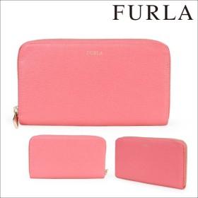 フルラ FURLA 財布 長財布 ラウンドファスナー レディース ピンク CLASSIC 841506