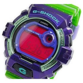 カシオ CASIO Gショック G-SHOCK デジタル メンズ 腕時計 G-8900SC-6 パープル×グリーン