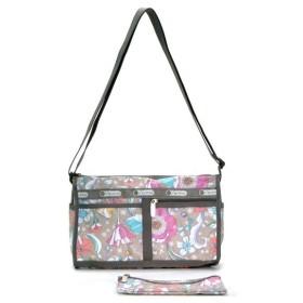 lesportsac レスポートサック delux shoulder satchel in bloom 斜めがけ 7519