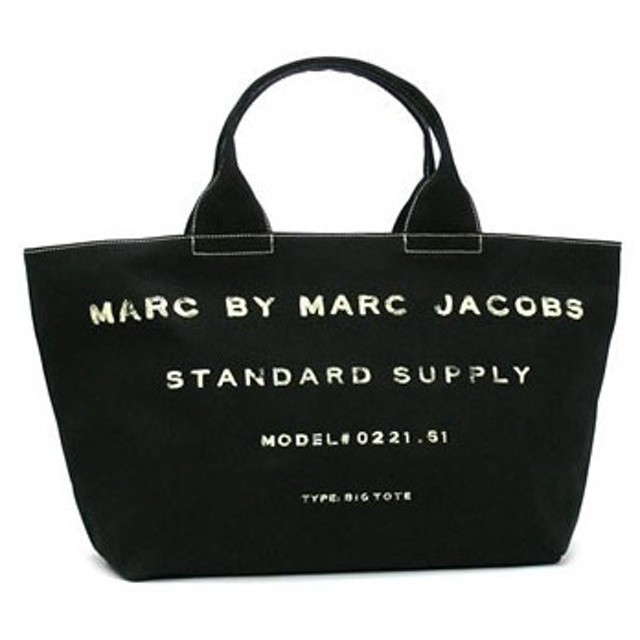 marc by marc jacobs マークバイマークジェイコブス standard supply clas big tote cotton base pu 2/m393036
