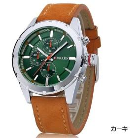e80ed38c92 PHCOOVERS カジュアル 腕時計 メンズ ローマ字 シンプル アナログ ...