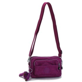 キプリング kipling ベルトバッグ BASIC K13975 MULTIPLE DEEP FUSHIA D.PUR