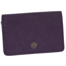 トリーバーチ TORY BURCH カードケース 31159082 YORK FOLDABLE CARD CASE PURPLE IRIS PUR