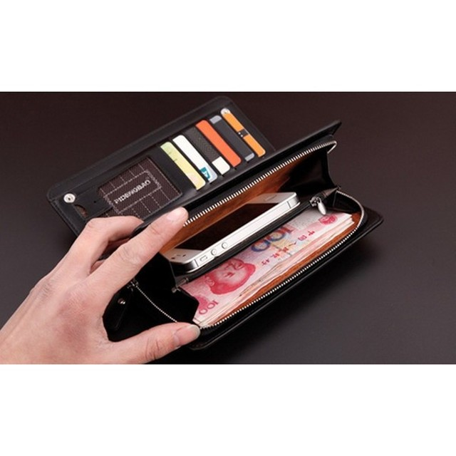 大容量 軽量 多機能 おしゃれ プレゼント ウォレット デザイン 財布 KZ-SAIFU19 予約