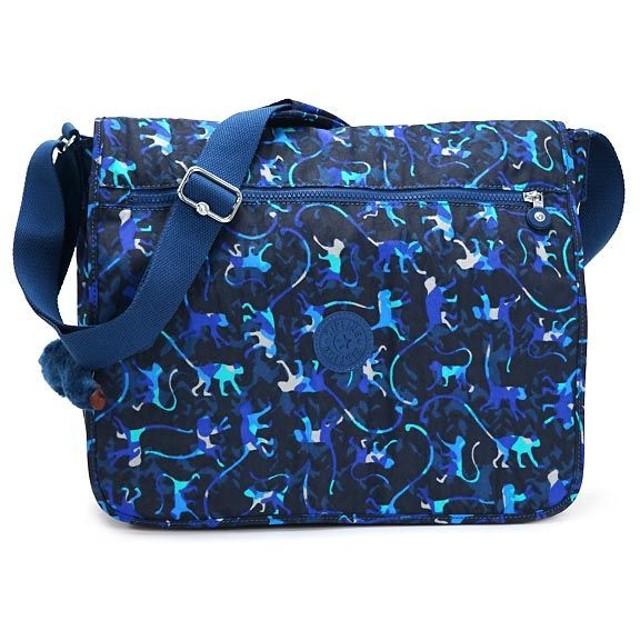 キプリング kipling ショルダーバッグ K15379 AZENYA CAMOU PR BLUE D.BL