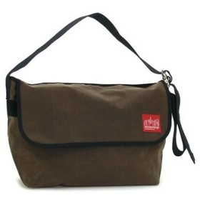 マンハッタンポーテージ manhattan portage ショルダーバッグ 1607v-wp dbr wax vintage messenger bag (lg)