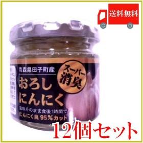 青森産 田子産にんにく スーパー消臭おろしにんにく 70g×12個セット 送料無料 ポイント消化