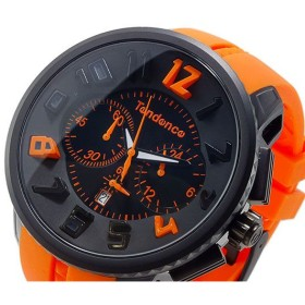 テンデンス TENDENCE ラウンドガリバー クオーツ メンズ クロノ 腕時計 T02046023