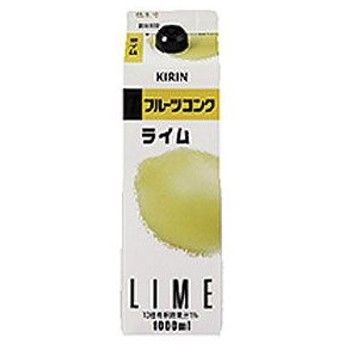 キリン フルーツコンク ライム 1000ml(1L)×6本