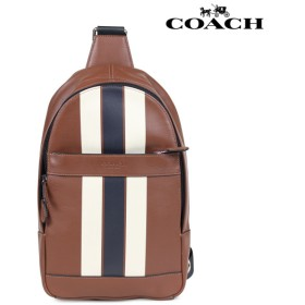 コーチ COACH バッグ ショルダーバッグ ボディバッグ メンズ レザー ブラウン F72226