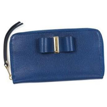 クロエ chloe 長財布 長札 3p0290 long zipped wallet factory blue d.bl