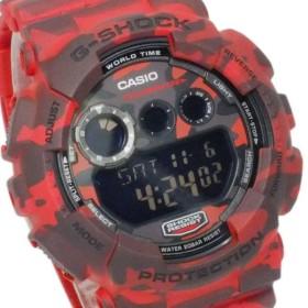 カシオ CASIO Gショック カモフラージュ デジタル メンズ 腕時計 GD-120CM-4