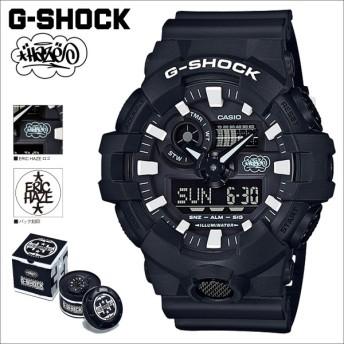 カシオ CASIO G-SHOCK 腕時計 GW-700EH-1AJR ERIC HAZECK コラボ ジーショック Gショック G-ショック ブラック メンズ レディース