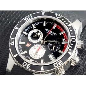 スイスミリタリー SWISS MILITARY 腕時計 メンズ クロノ 16078837