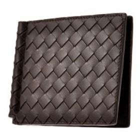 ボッテガ ヴェネタ 二つ折り短財布 レディース 123180-V4651-2006 ブラウン