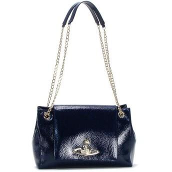ヴィヴィアン ウエストウッド vivienne westwood ショルダーバッグ 13405 bag with flap blue bl