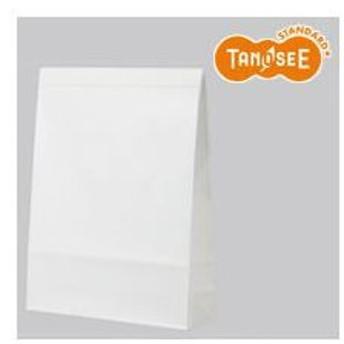 (まとめ)TANOSEE 宅配袋 小 PPフィルム加工 白 封かんテープ付 100枚入×20パック