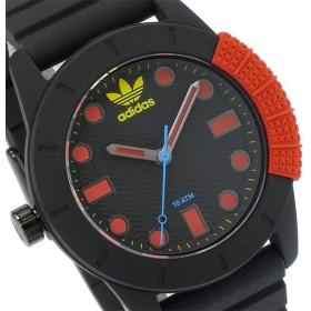 アディダス ADIDAS スーパースター SUPERSTAR クオーツ メンズ 腕時計 ADH3176 ブラック