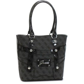 ゲス GUESS トートバッグ ELOISE SI283722 SMALL SHOPPER COAL GY