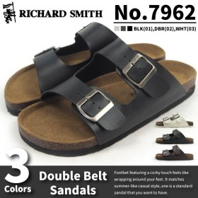 RICHARD SMITH リチャード・スミス ダブルベルトサンダル 7962シリーズ メンズ