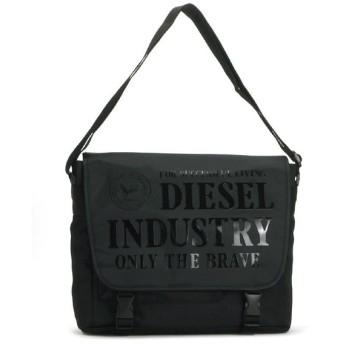 ディーゼル diesel バッグ 斜めがけ x02406 city messenger black/black print bk
