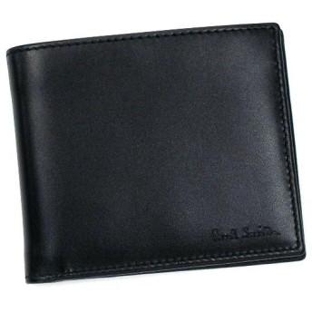 ポールスミス paul smith 財布 二つ折りカード w232 agxa1032 shopping b-black bk