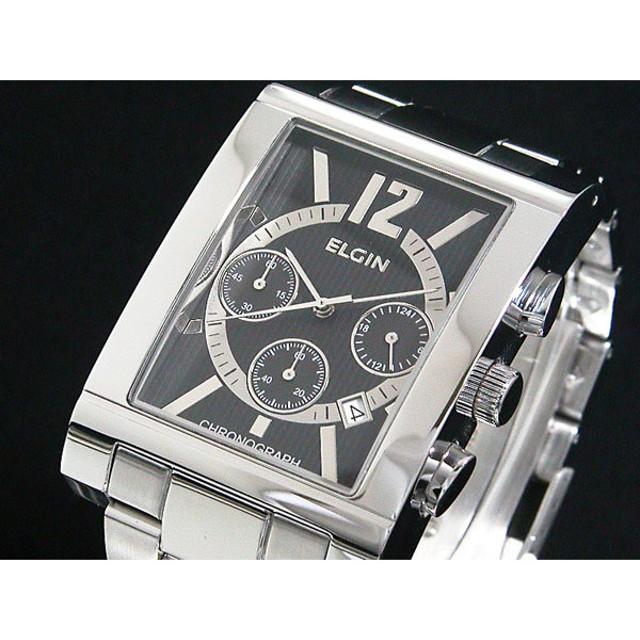 21c43f7a48 エルジン ELGIN 腕時計 クロノグラフ メンズ FK1327S-B 通販 LINE ...