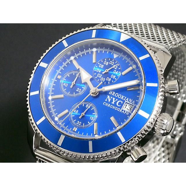 ブルッキアーナ 腕時計 クロノグラフ メンズ BA1642-BL2