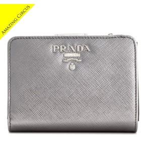 プラダ PRADA  財布  サフィアーノメタル 二つ折り財布 1ML018 QWA 135