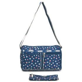 LeSportsac レスポートサック ハーバードット deluxe shoulder satchel 7519