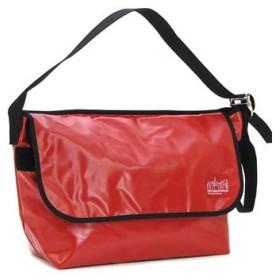 マンハッタンポーテージ manhattan portage ショルダーバッグ 1607v-vl vinyl vintage messenger bag red
