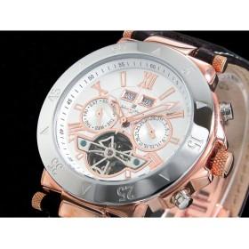 サルバトーレマーラ 腕時計 自動巻き メンズ SM7023-PGWH
